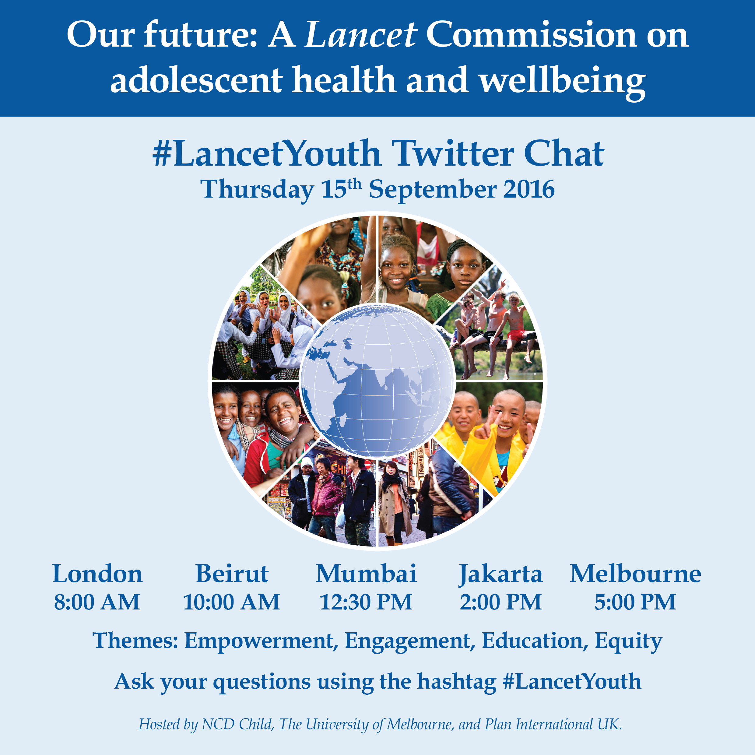Lancet Youth Commission graphic